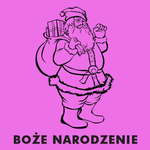 Kolorowanki dla dzieci - Boże Narodzenie, Święta Bożego Narodzenia