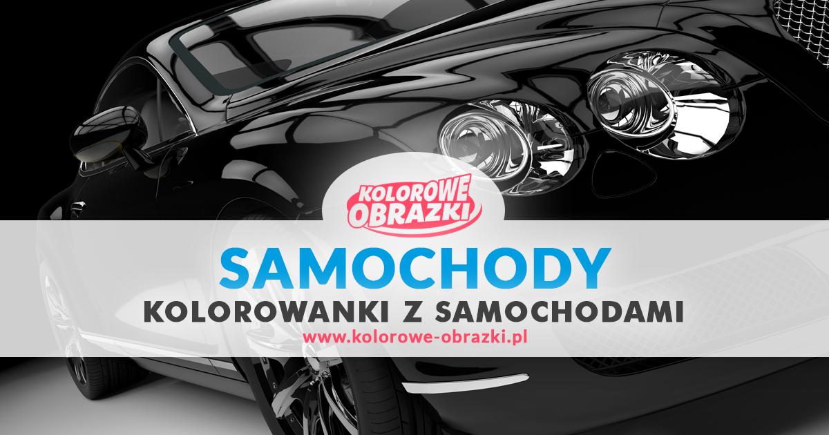 Kolorowanki samochody, kolorowanki z samochodami - www.kolorowe-obrazki.pl