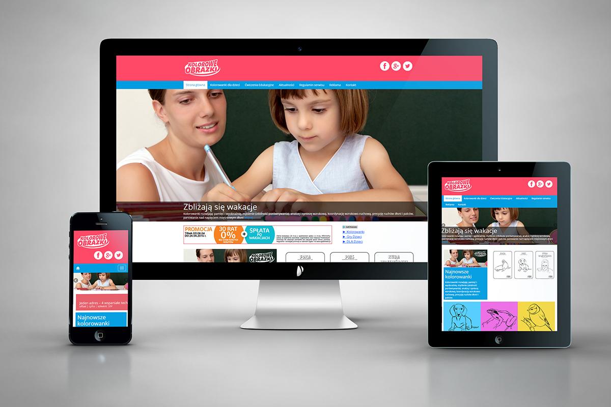 Kolorowe-obrazki.pl - Kolorowanki dla dzieci - Nowa strona www
