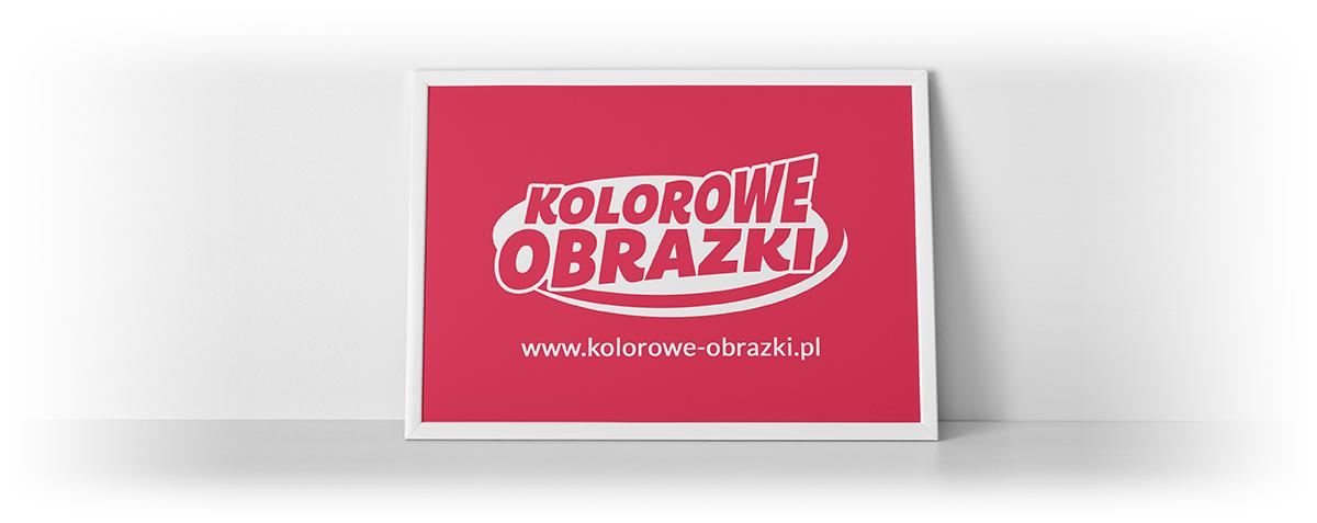 Nowe logo kolorowe-obrazki.pl - Kolorowanki dla dzieci
