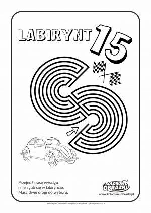 Kolorowanki dla dzieci - Labirynty / Labirynt nr 15