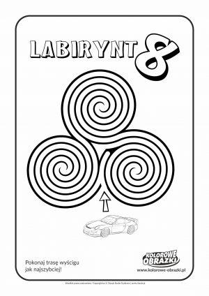 Kolorowanki dla dzieci - Labirynty / Labirynt nr 8
