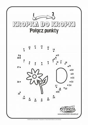 Kolorowanki dla dzieci - Połącz punkty / Obrazek nr 3. Łączenie punktów