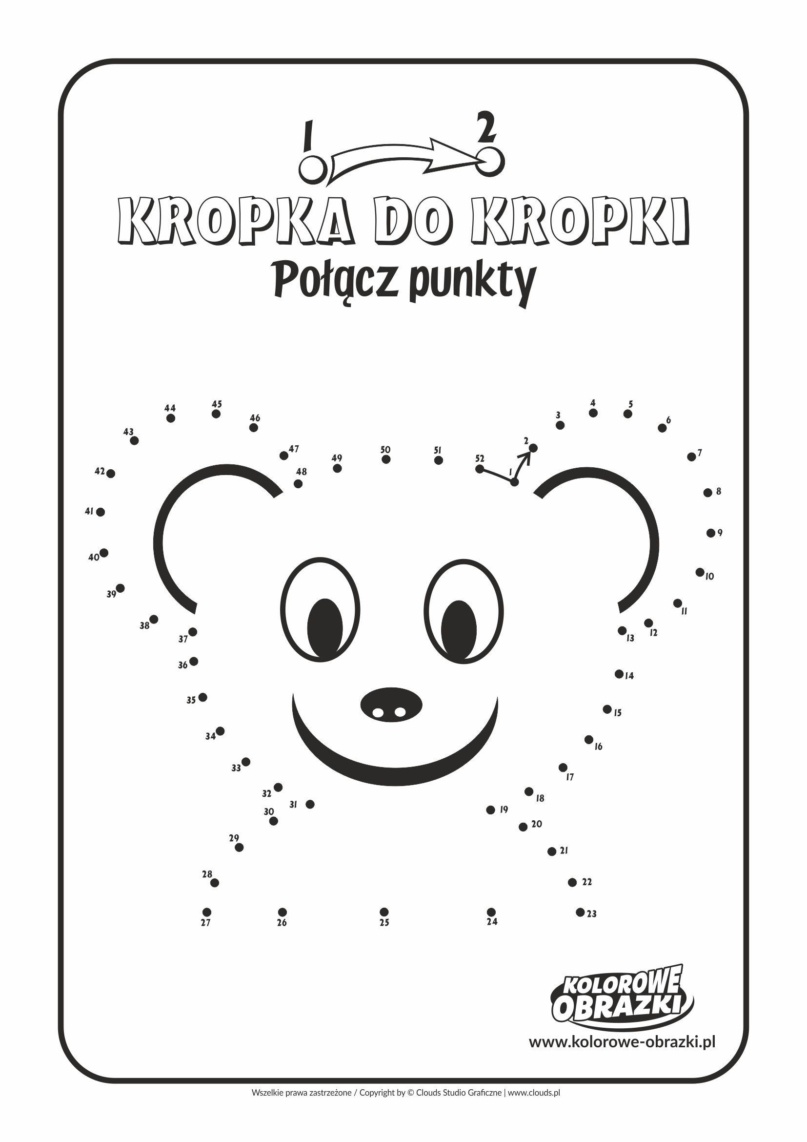 Kolorowanki dla dzieci - Połącz punkty / Obrazek nr 6. Łączenie punktów