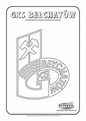 Kolorowanki GKS Bełchatów – Polskie kluby piłkarskie