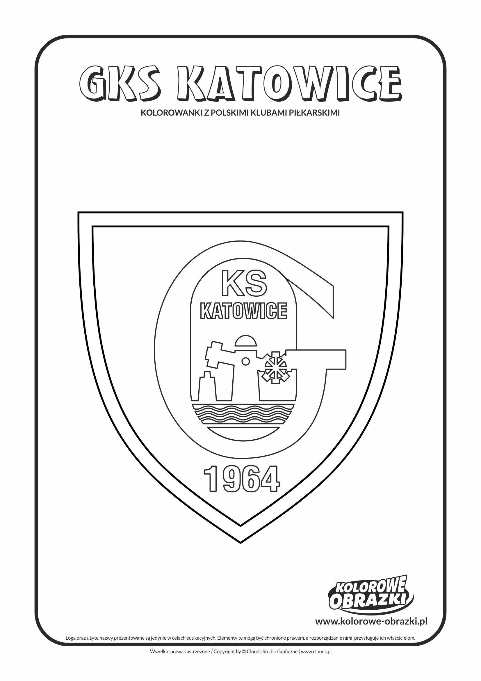 Kolorowanki GKS Katowice – Polskie kluby piłkarskie