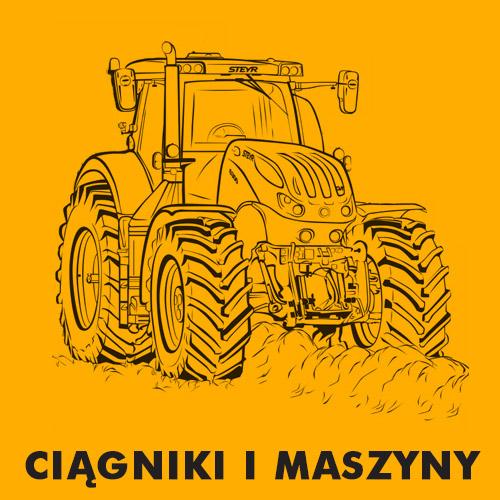 Kolorowanki dla dzieci - Ciągniki i maszyny rolnicze